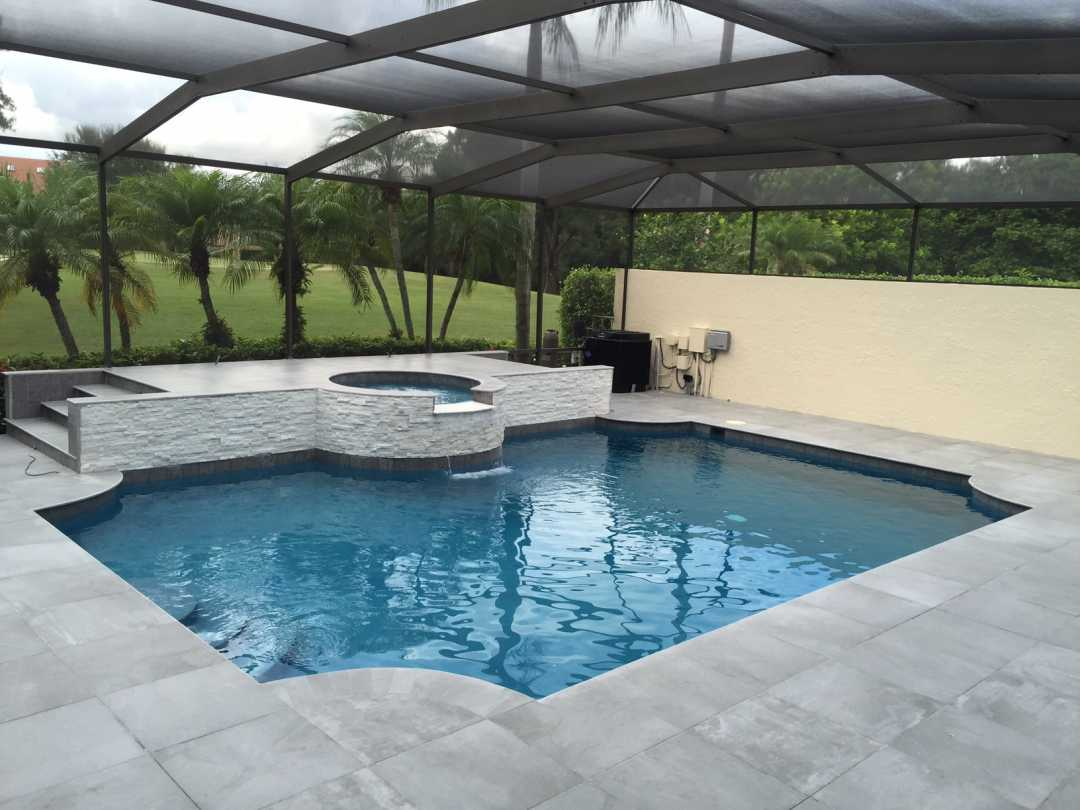 Backfilling Paver Pool Deck Floridas Finest Pools